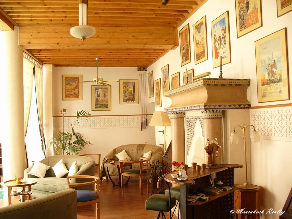 9 bedroom boutique-riad for sale in the Medina of Marrakech