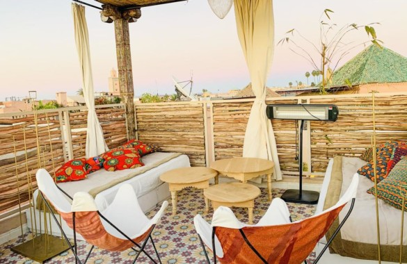 Charmant Riad de 4 chambres avec bel emplacement