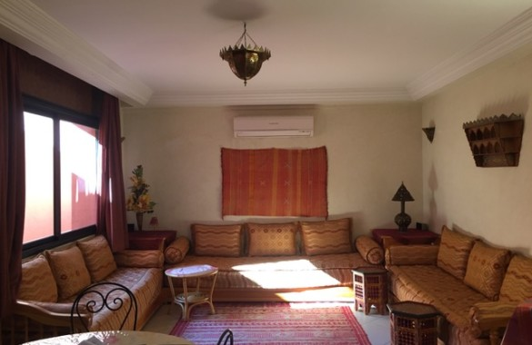 For sale, apartment well located in the Hivernage district of marrakesh