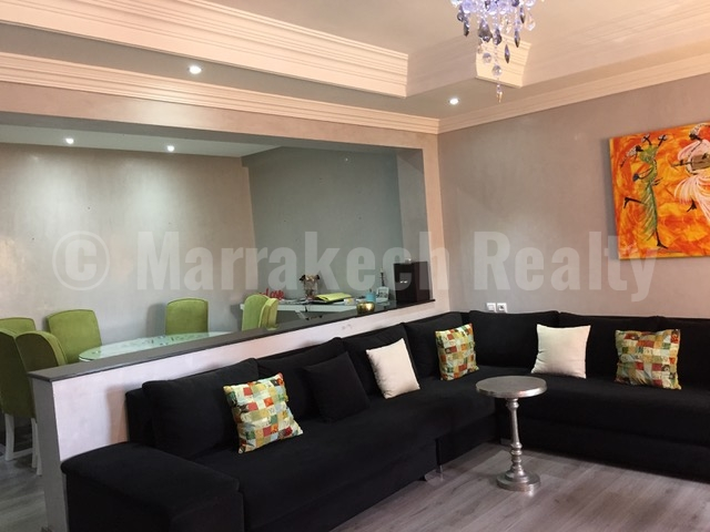 Bel appartement moderne à vendre à l'Hivernage