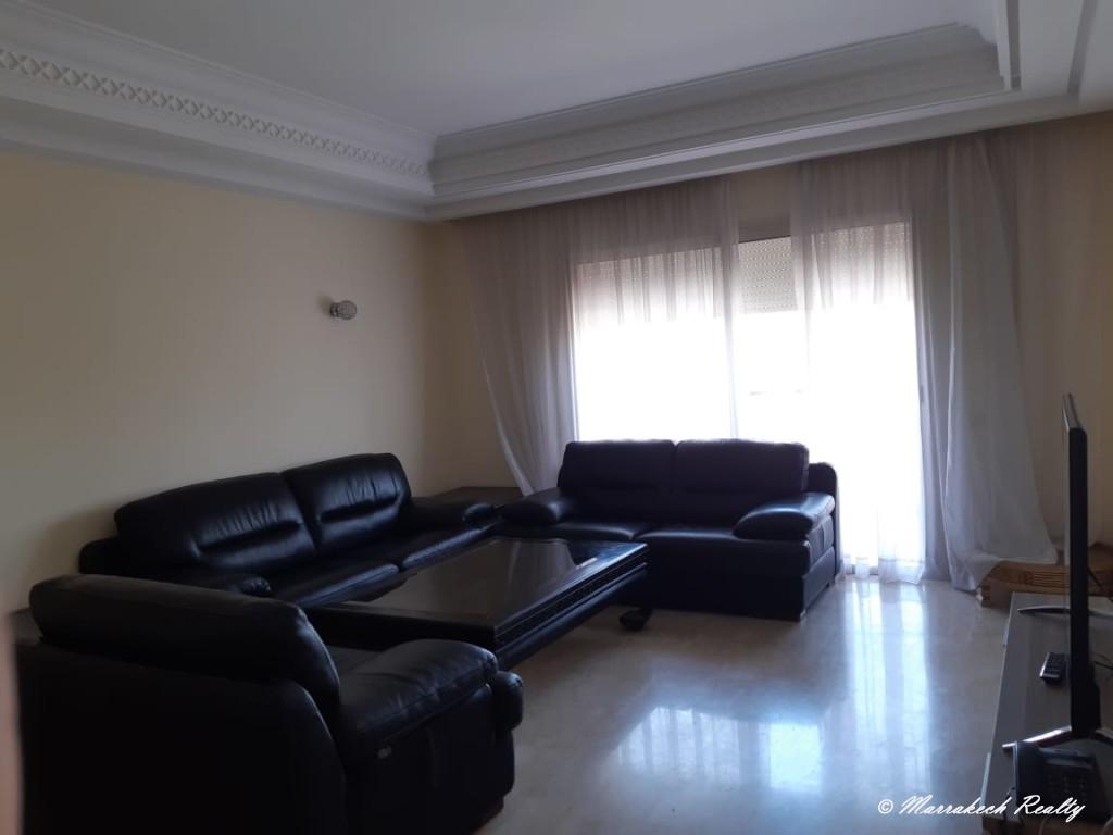 Bel appartement de 3 chambres à louer dans une résidence sécurisée