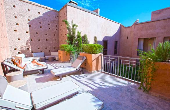 Vaste et luxueux Riad de 6 chambres à vendre en Medina de Marrakech