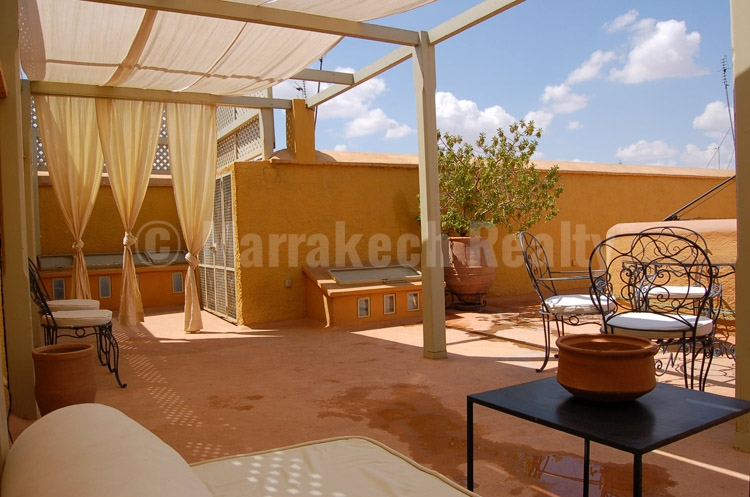 Lovely 3 bedroom Riad with an adjacent 2 bedroom house