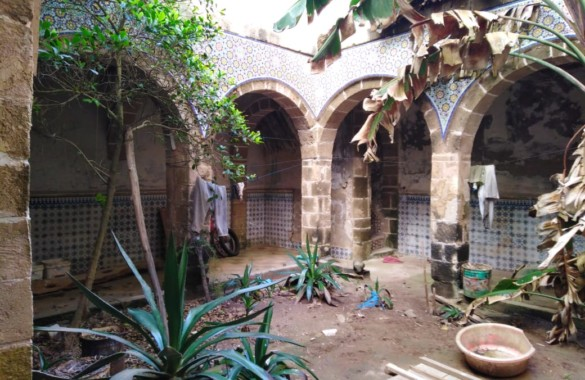 Former Portuguese stables in the heart of the medina