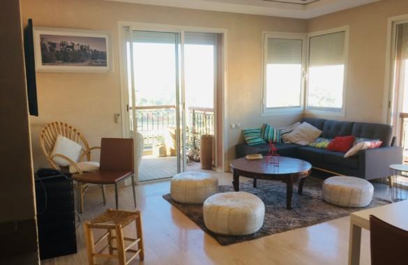 Bel appartement à louer dans une résidence de standing avec piscine