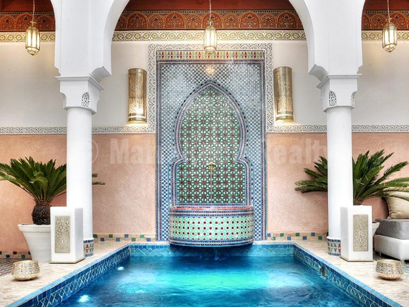 Riad Maison d'Hôtes de 8 chambres à vendre en Medina de Marrakech