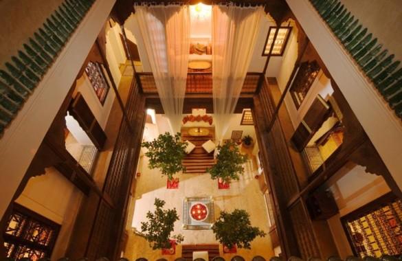 Elégant Riad maison d'hôtes de 6 chambres avec superbe emplacement