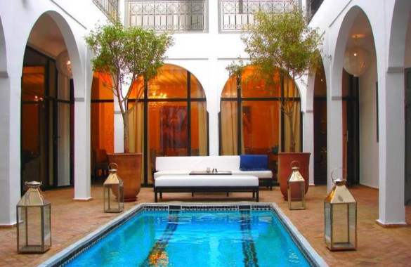 Top end uber successful 9 suite Boutique-Riad for sale in Marrakech