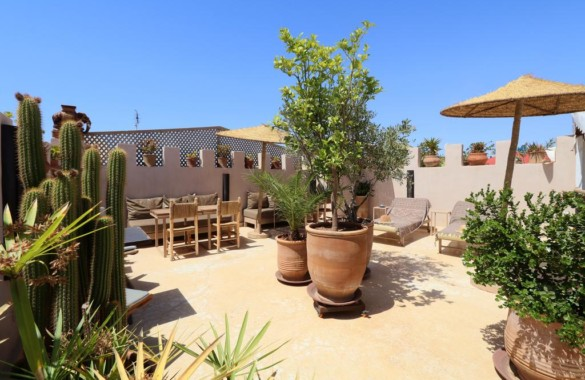 Lovely 5 bedroom Boutique-riad for sale in the Medina of Marrakech