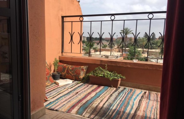 1 bedroom apartment with terrace for sale at downtown Marrakech
