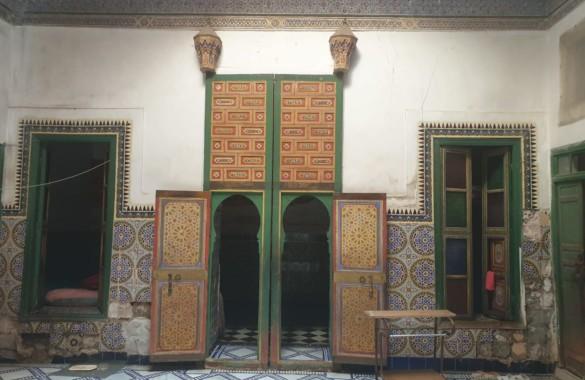 Riad historique à rénover : emplacement de choix et fort potentiel