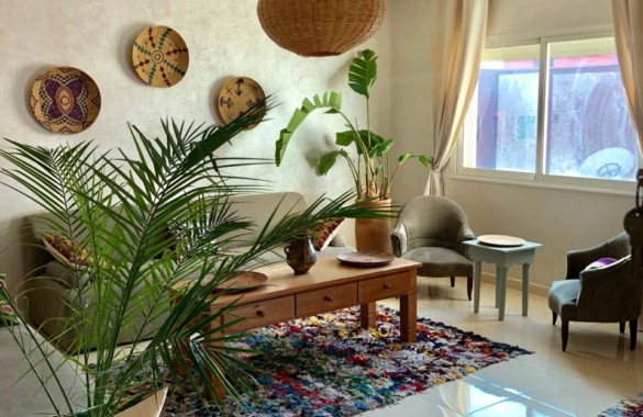 Very well decorated apartment for rent in town