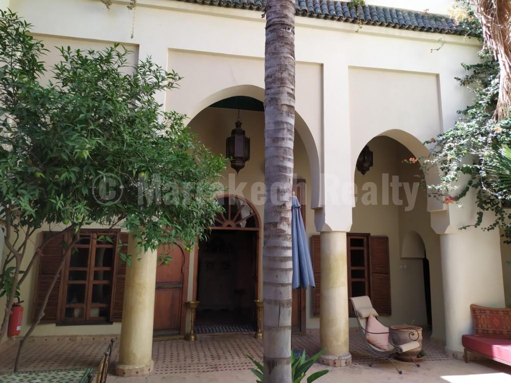 Authentique Riad de 6 chambres à vendre en Medina de Marrakech
