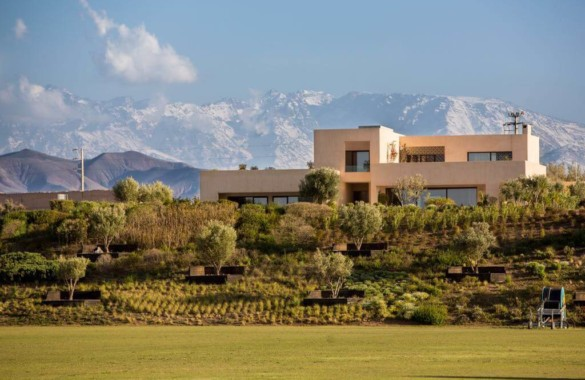Luxury 3 to 5 bedroom villas for sale in an exclusive gated domain in  Marrakech