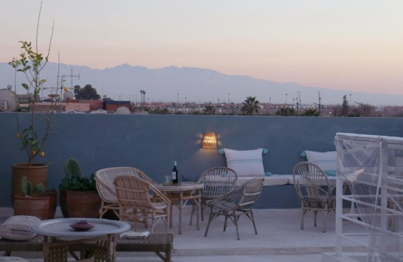 Riad épuré de 5 chambres à vendre au sud de la Medina de Marrakech