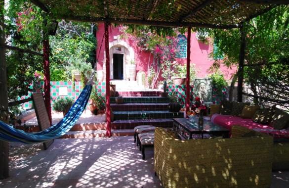Maison de caractère sur un domaine de 4,7 hectares située à 25 mn d'essaouira