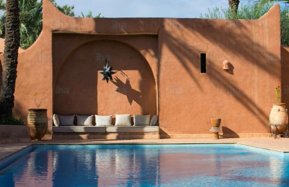 Exceptionnel Ecolodge de 11 suites à vendre en Palmeraie de Marrakech