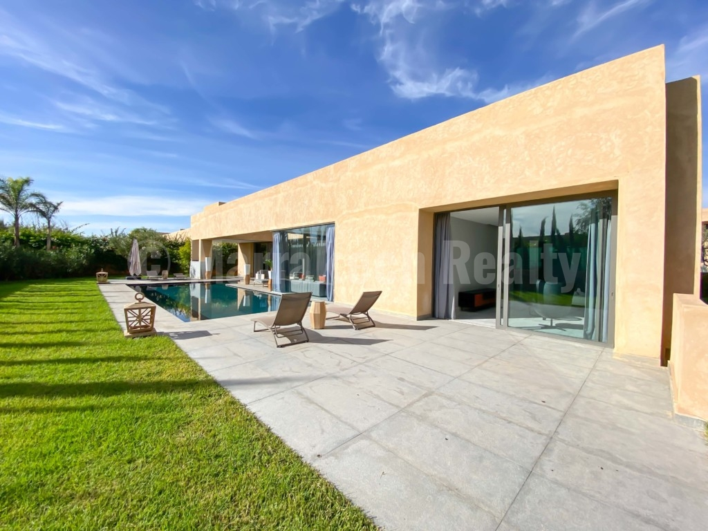 Très belle villa contemporaine à vendre dans un domaine sécurisé