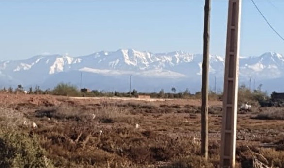 Standout land with title deeds for sale a mere 10 minutes from Marrakech