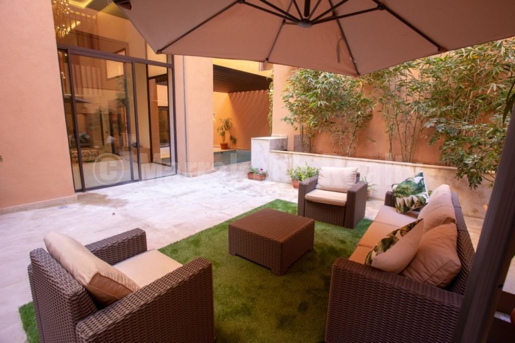 Très beau duplex de 4 chambres à vendre avec piscine privative à Marrakech