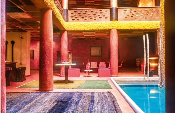 Riad showroom avec emplacement de premier ordre en Medina