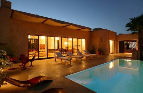 Villa contemporaine de 4 chambres à saisir dans le domaine golfique d'Amelkis