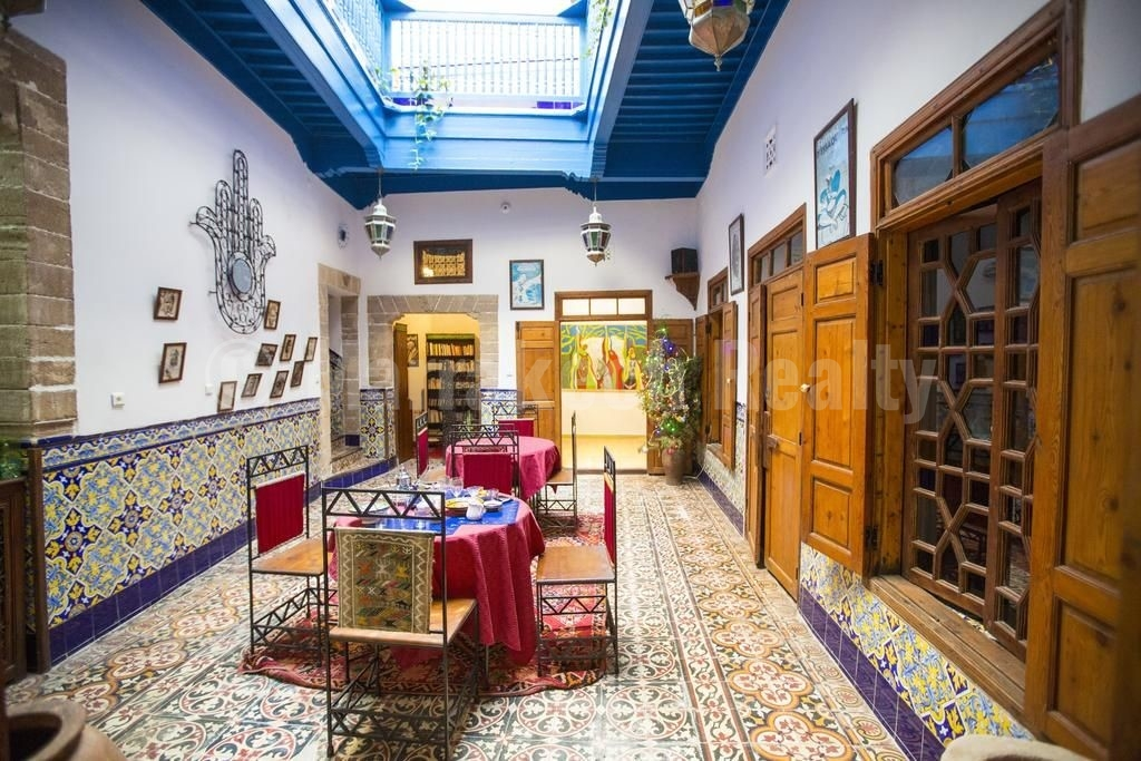 Vaste Riad traditionnel à rafraîchir au coeur de la Medina d'Essaouira