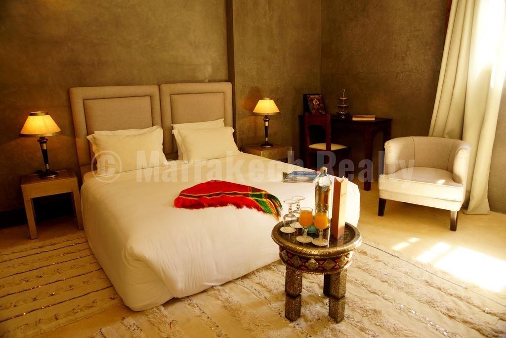 Exceptionnel Riad de 12 chambres en Medina exploité en Boutique-Hotel