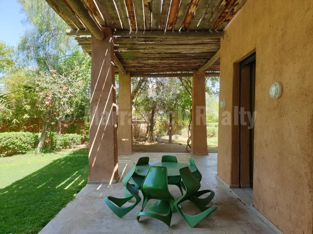 Superbe villa de 4 chambres à louer dans un domaine privé à proximité de Marrakech