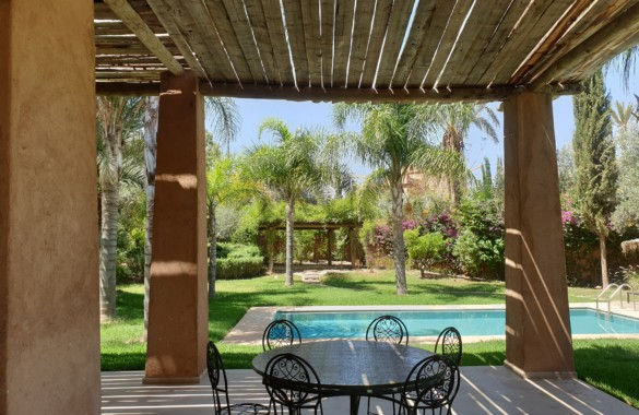 Upscale 3 bedroom kasbah-style villa for rent close to Marrakech
