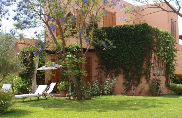 Charmante villa en vente de 3 chambres en Palmeraie de Marrakech
