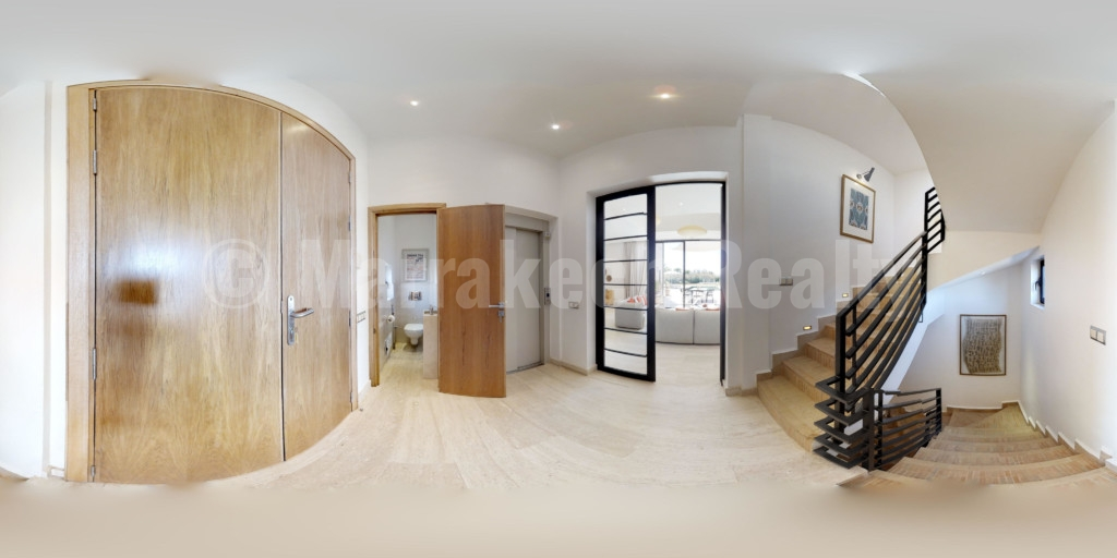 Très beau projet immobilier composé de villas de luxe, situé à 20 mn de Marrakech