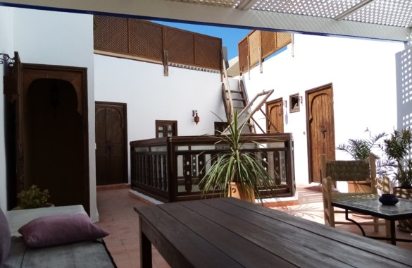 Pretty 4 bedroom Riad with prime location and excellent rental figures