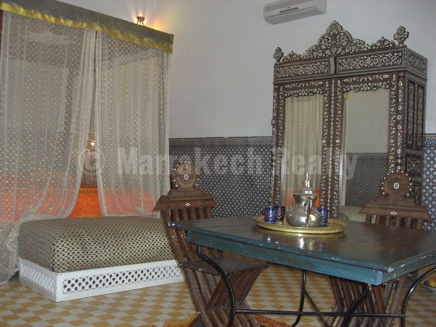 Exceptionnel Riad historique de 17 chambres à vendre de façon confidentielle