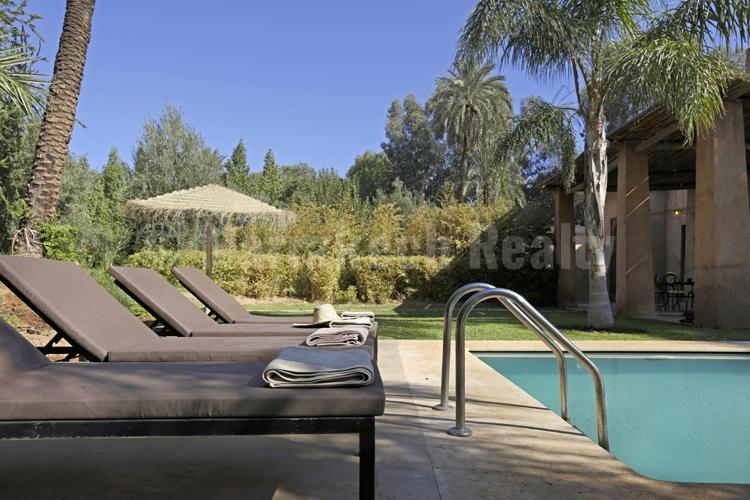 Elégante villa de 4 chambres de style Kasbah en vente à proximité de Marrakech