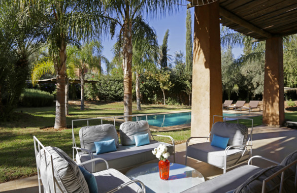 For sale: 4 bedroom kasbah-style villa in a gated community close to Marrakech