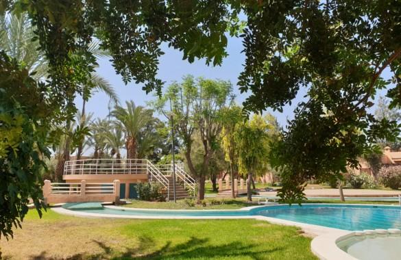 Charmante villa de 3 chambres à vendre dans un domaine privé en Palmeraie de Marrakech