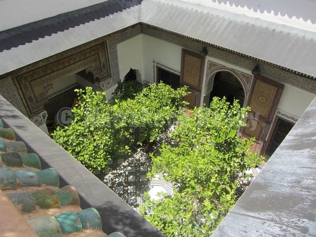Petit palais unique à vendre au cœur de la Medina