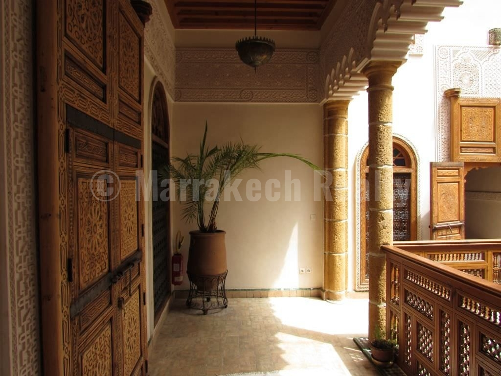 Historic 5 bedroom Boutique-Riad for sale in the Medina of Marrakesh