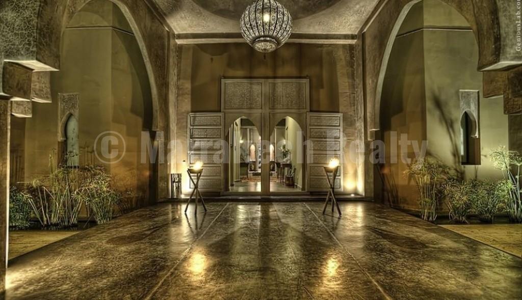 Superbe opportunité: exceptionnel hôtel de 17 chambres à vendre au pied de l'Atlas