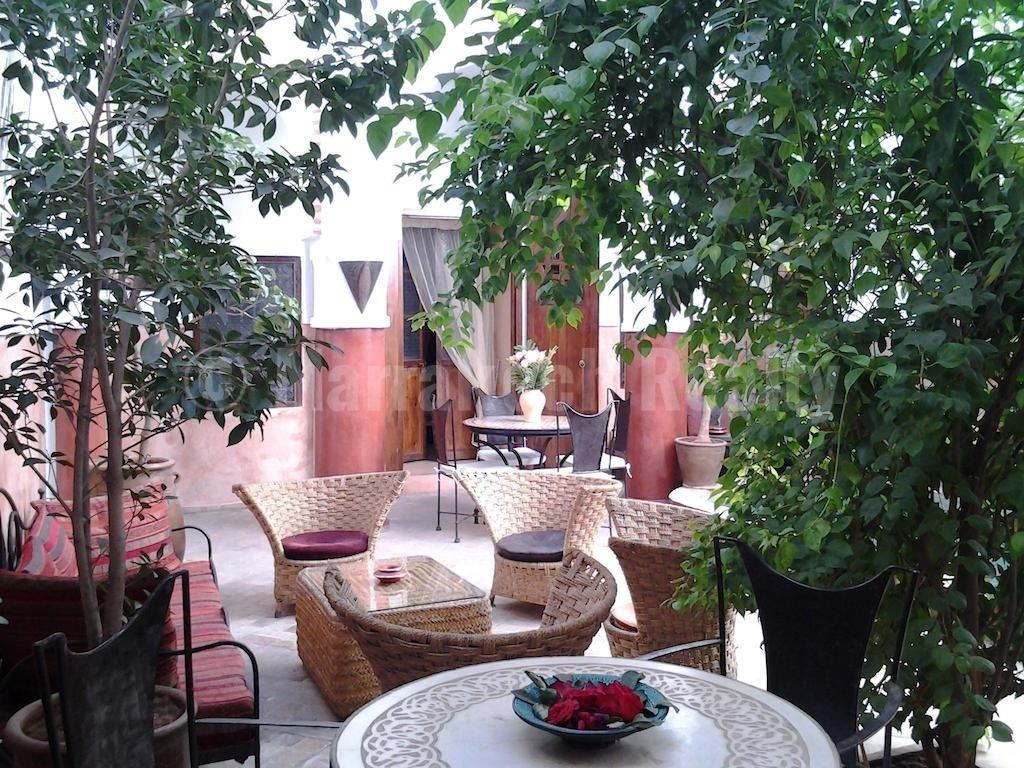 Authentique Riad de 5 chambres avec très bel emplacement à vendre en Medina