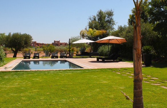 Pretty villa enviably located on a prestigious golf course 25 minutes from Marrakech