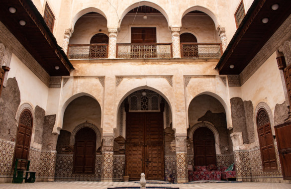 Exceptionnel Riad historique à rénover au cœur de la Medina