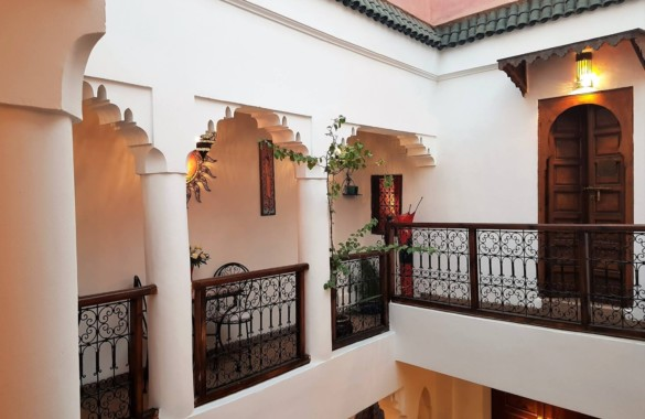 Sweet 6 Bedroom Guest-House Riad for sale in a sought after district of the Medina
