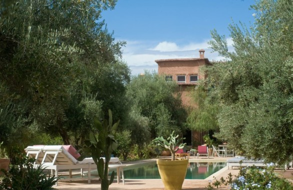 Unique 4 bedroom Eco-Kasbak for sale in an olive grove close to Marrakech