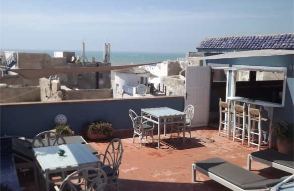 Pretty 11 bedroom Guest-House Riad with seaviews in Essaouira