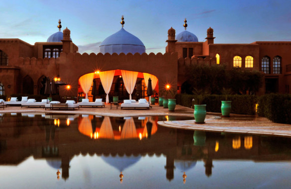 Majestic Moorish-style 7 suites Palace in Marrakech just listed