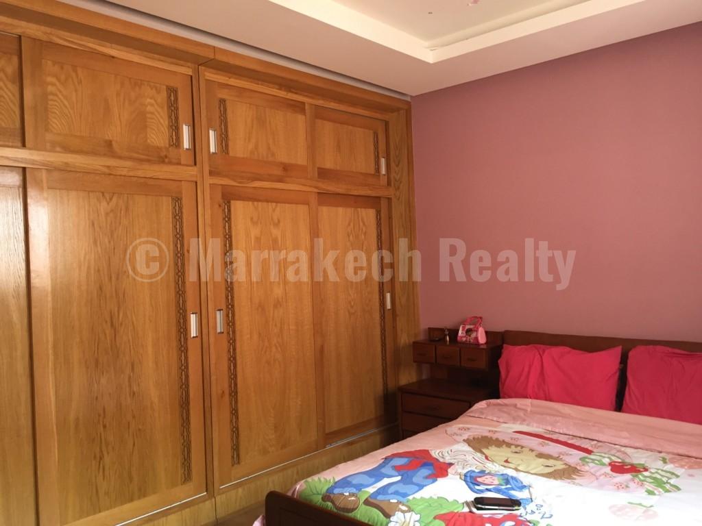 Vaste et bel appartement de 4 chambres à vendre au cœur de Marrakech