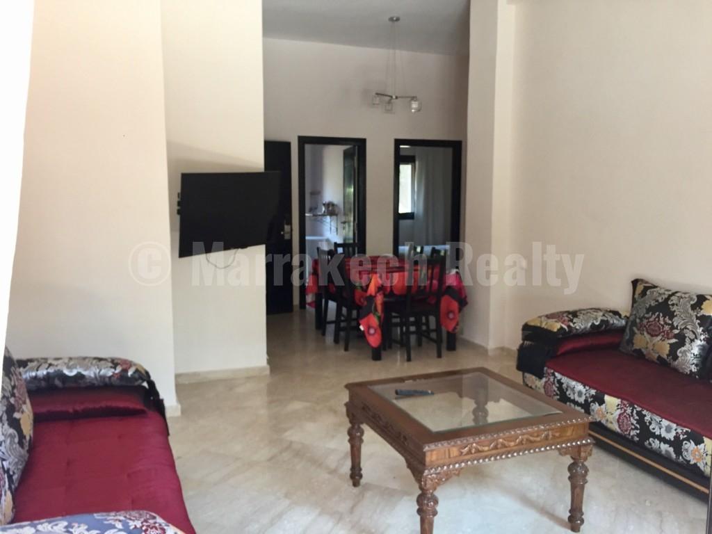 Bel appartement de 2 chambres à louer dans une résidence sécurisée