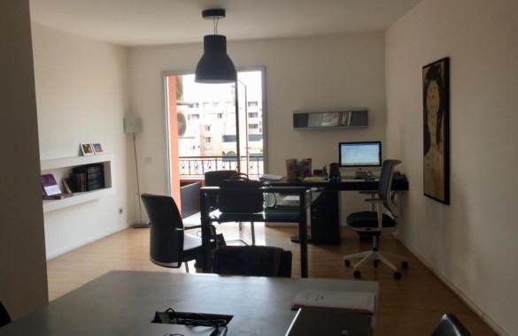 Plateau de bureaux en parfait état à louer au coeur de Gueliz